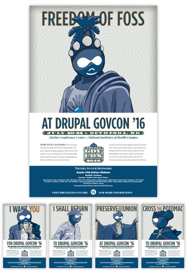 Drupal GovCon 2016-Posters